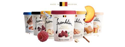Franklin ijs viert België met heerlijke Belgische sorbets!