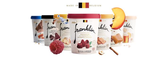 Preview: Franklin ijs viert België met heerlijke Belgische sorbets!