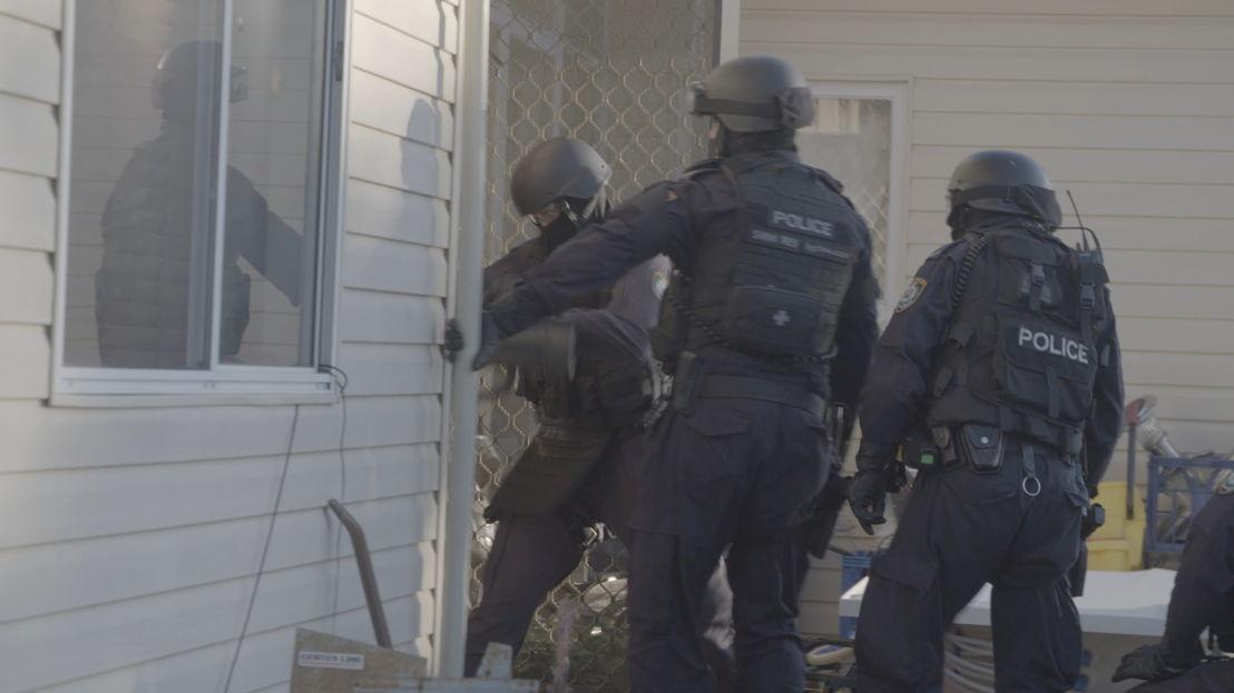 police ice raid