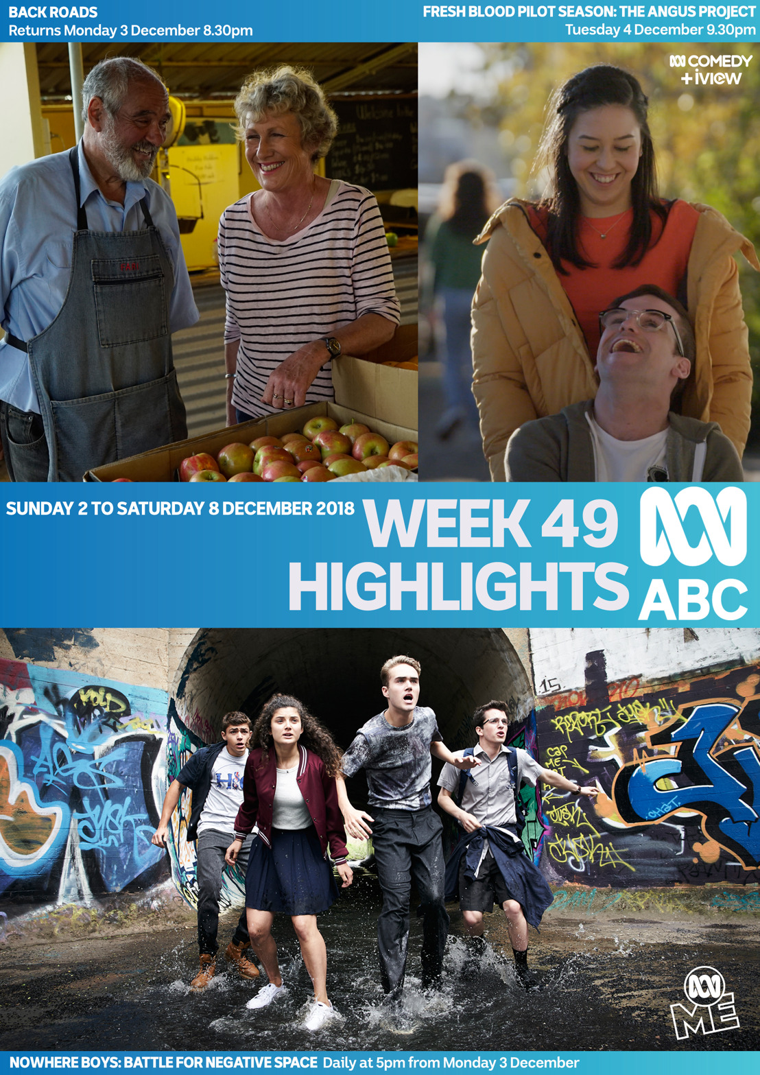 ABC TV Program Highlights - Week 49