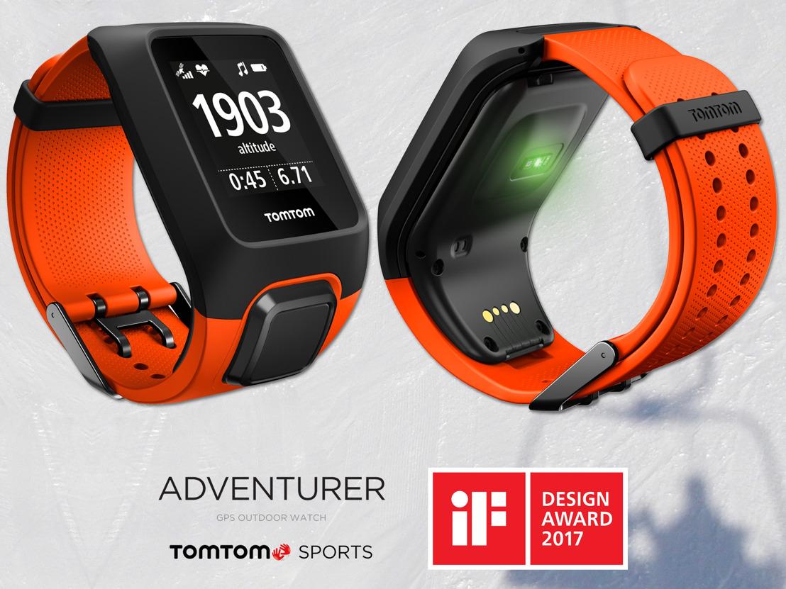 TomTom Adventurer wint iF design award 2017