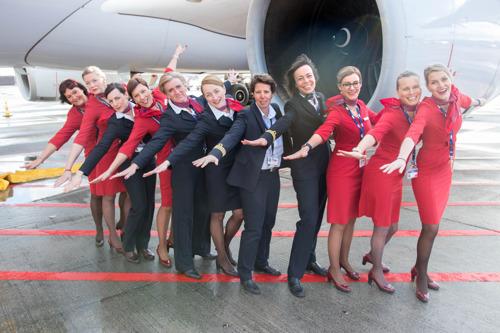 Brussels Airlines met 100% vrouwelijke crew naar Kigali en Entebbe voor Internationale Vrouwendag