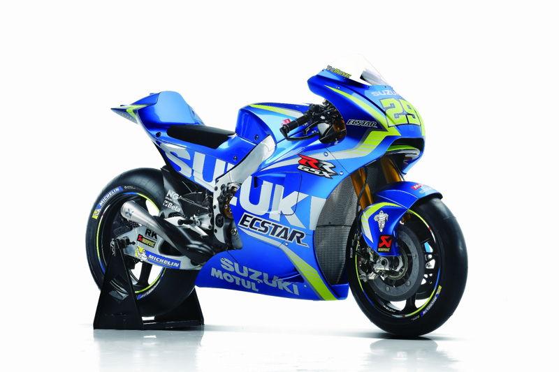 GSX-RR: MotoGP machine