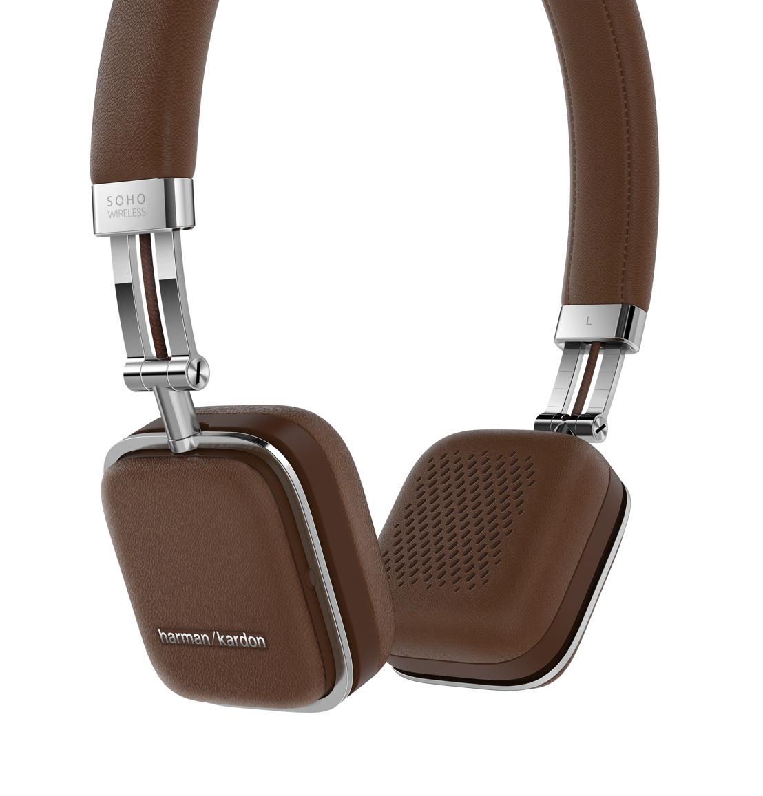 harman launches harman kardon soho wireless headphones at. Black Bedroom Furniture Sets. Home Design Ideas
