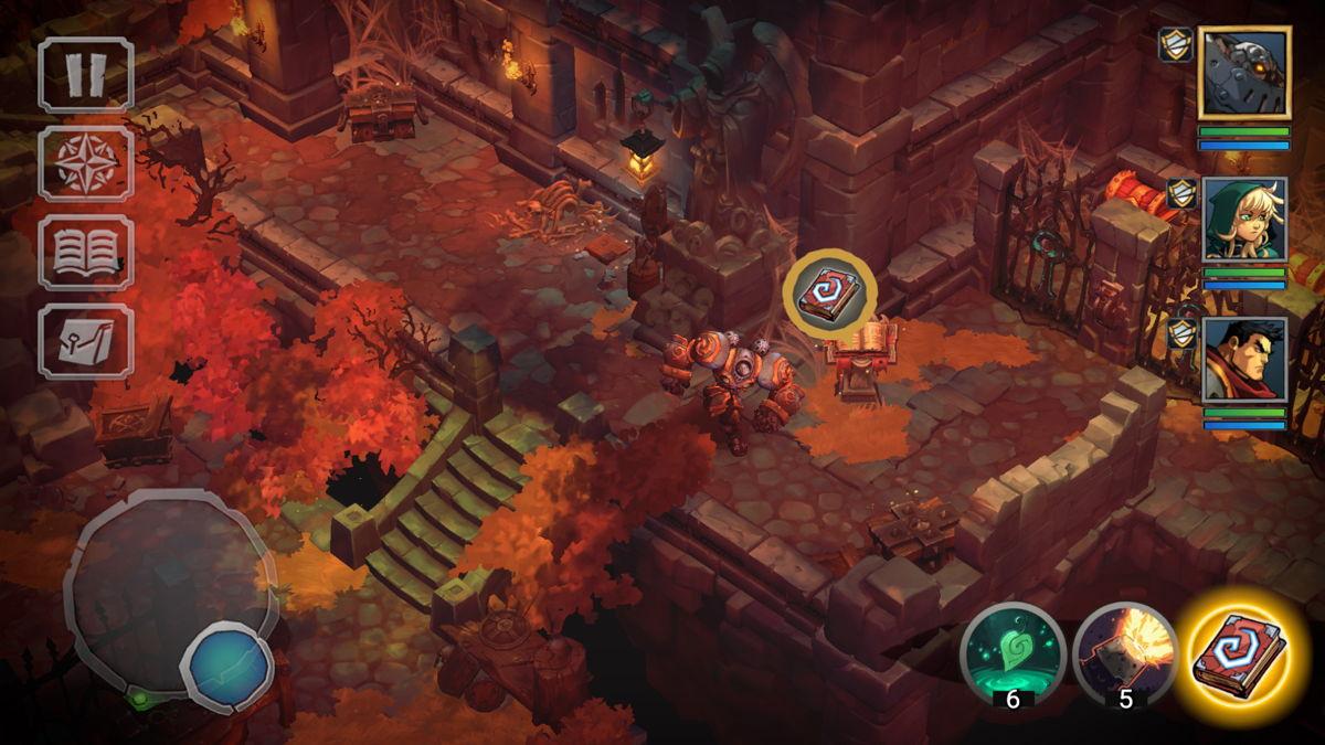 Battle Chasers: Nightwar, HandyGames