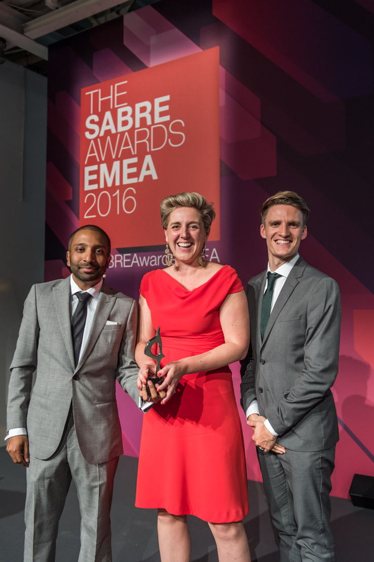 SABRE Awards EMEA Benelux Campaign © Ralf Ruehmeier