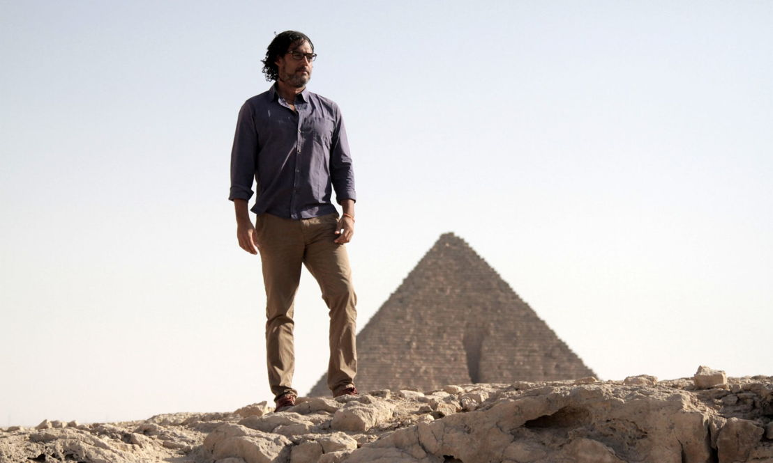 Civilisations - David Olusoga in Egypte - (c) BBC