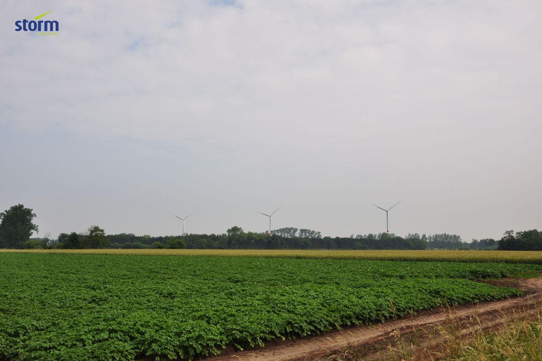 Storm-windpark Geel: visualisatie 5