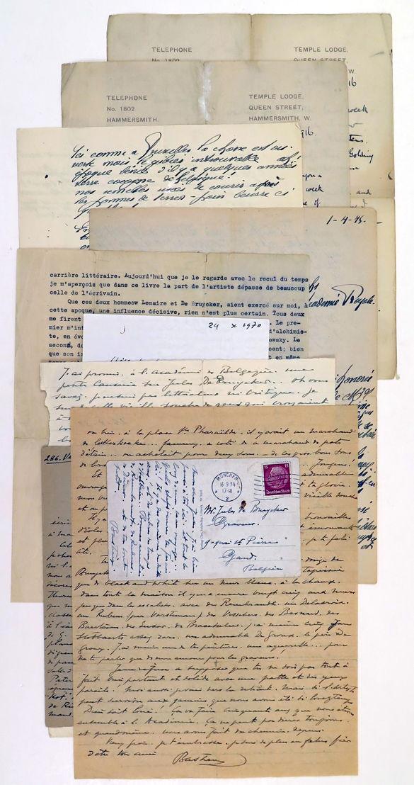 Lettres Paul Eeckhout