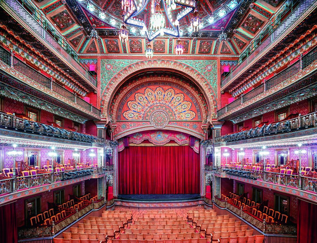 Teatro Juárez Guanajuato I 2015 / © Candida Höfer / VG Bild-Kunst