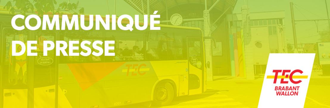 Invitation à la presse : Le TEC Brabant Wallon assure une rentrée haute en couleurs pour ses clients !