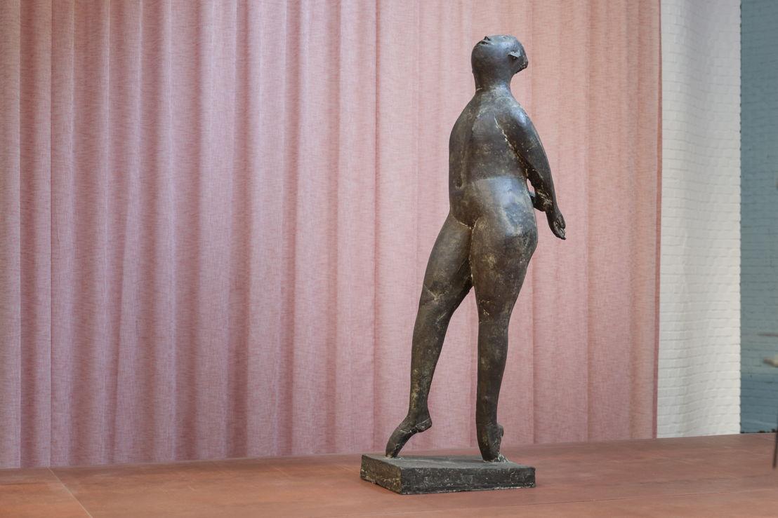 Marino Marini, De grote danseres, 1952. KMSKA – Lukas-Art in Flanders vzw. Photo: Ans Brys © SABAM Belgium 2017