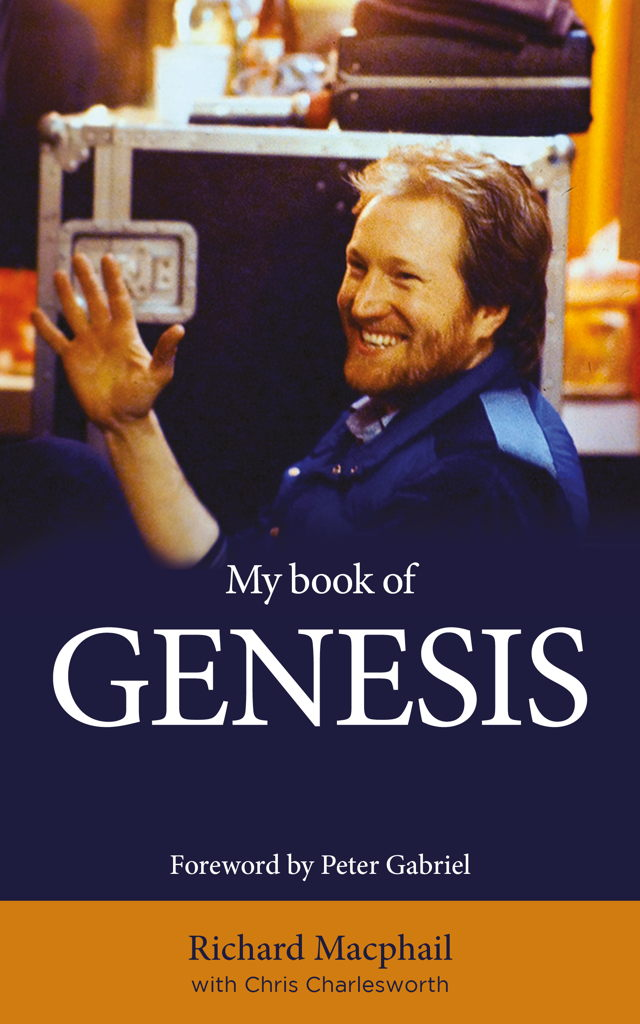 (Hi res) My Book Of Genesis by Richard Macphail - Front Cover