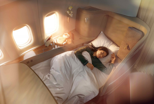Cathay Pacific lanceert verbeterde First en Business Class