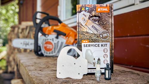 Nieuwe Service Kits en Care & Clean Kits van STIHL