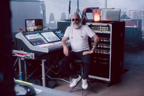 Monitor Mixer James Gueness Hits the Road with Rüfüs Du Sol and SSL Live L550 Console
