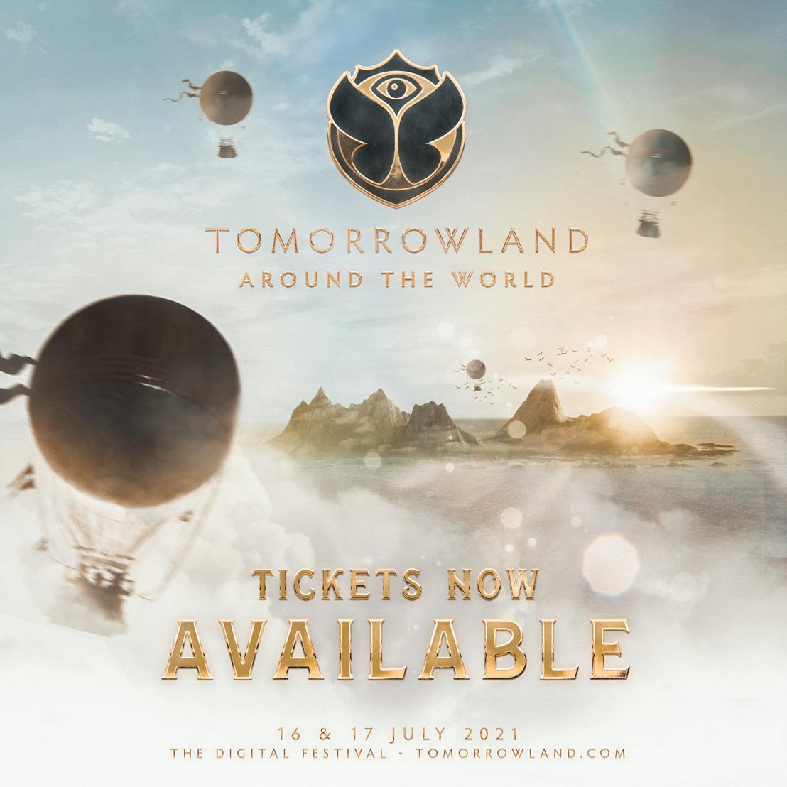 Les billets et packages Tomorrowland Around the World 2021 sont disponibles dès aujourd'hui