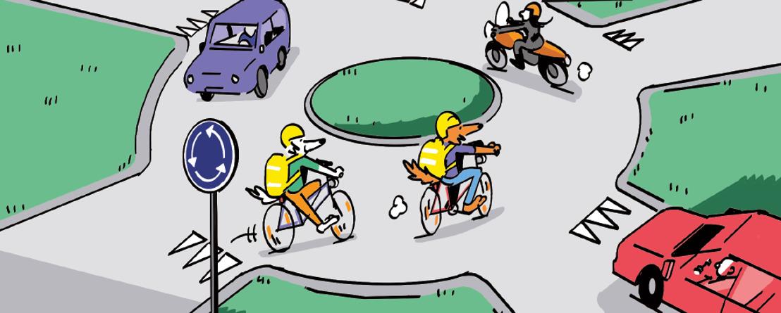 Evitez les accidents sur le chemin de l'école!
