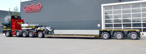 Nieuwe Nooteboom EURO-PX diepladers voor Van Wieren Special