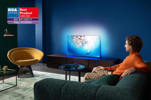 Les téléviseurs Philips OLED remportent à nouveau les prix EISA