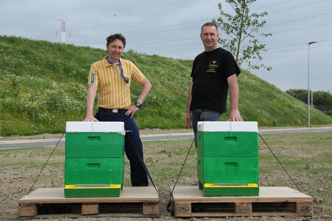 David Loozen - Verantwoordelijke marketing IKEA Hasselt<br/><br/>Marc Severi - stadsimker Hasselt