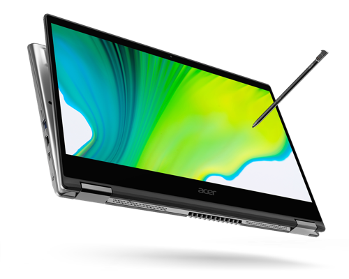 Acer Enhances Its Spin Convertible Notebook Series with New Slimmer Designs and Latest Processors