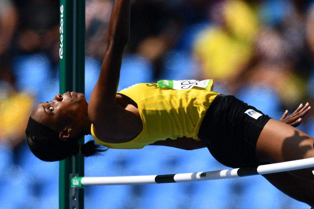 Levern Spencer of Saint Lucia. Picture by Getty Images.