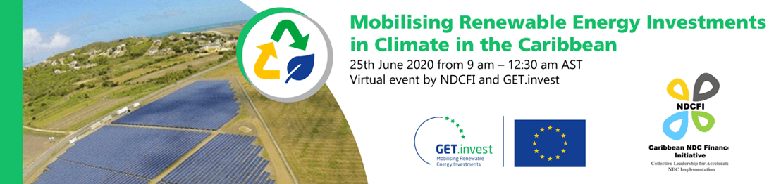 Webinar: Mobilising Renewable Energy Investments in Climate in the Caribbean