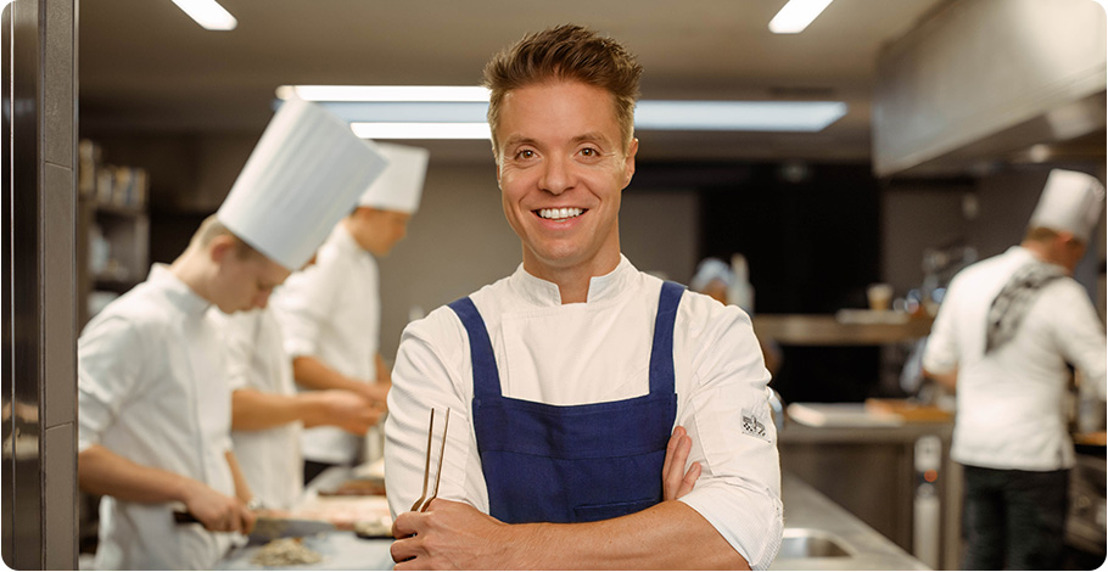 Le chef étoilé Thierry Theys et Brussels Airlines créent une expérience gastronomique à 10km
