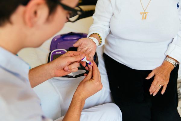 Patiënten met type 1 diabetes hadden geen hoger risico om met COVID-19 in het ziekenhuis te belanden. / © UZ Leuven