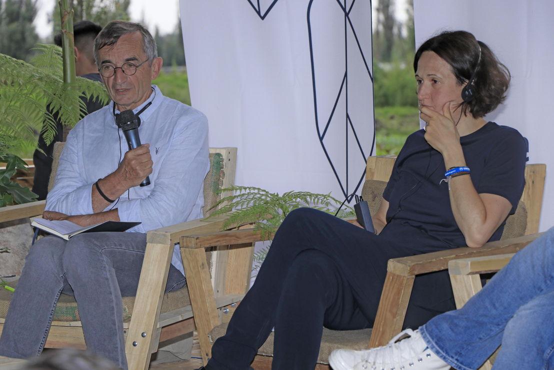 Michel Bras y Cristina Franchini