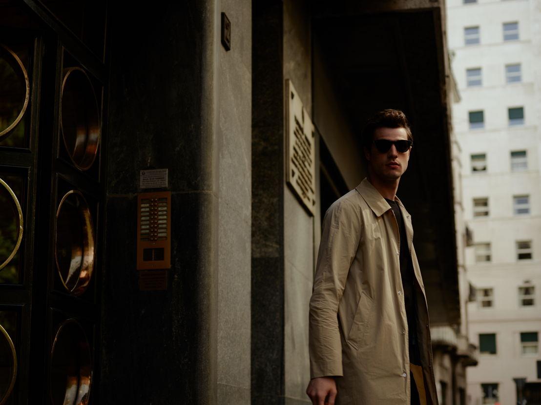 GR13 - Salle Privée - Pierre raincoat_760euro_Joseph sunglasses_360euro