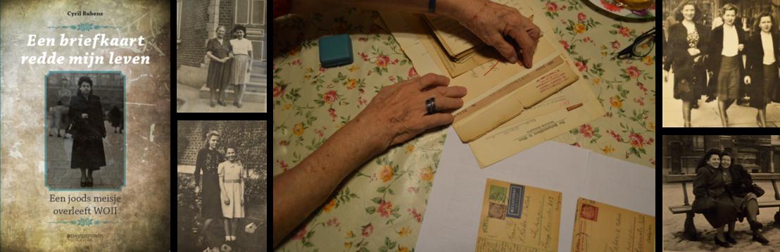 Net verschenen: 'Een briefkaart redde mijn leven. Een joods meisje overleeft WOII'