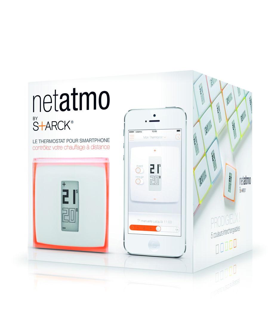 De Netatmo Thermostaat voor Smartphone