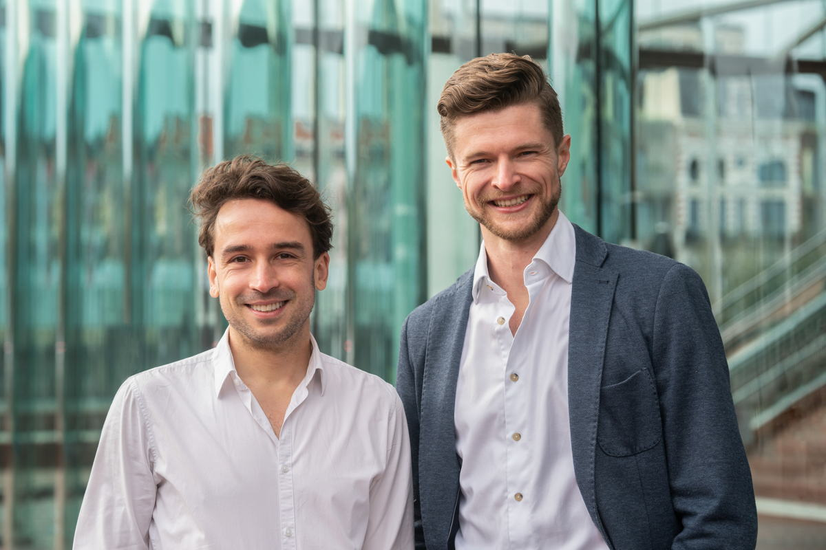 Jonathan van Driessen & Anthony Lamot, oprichters DESelect