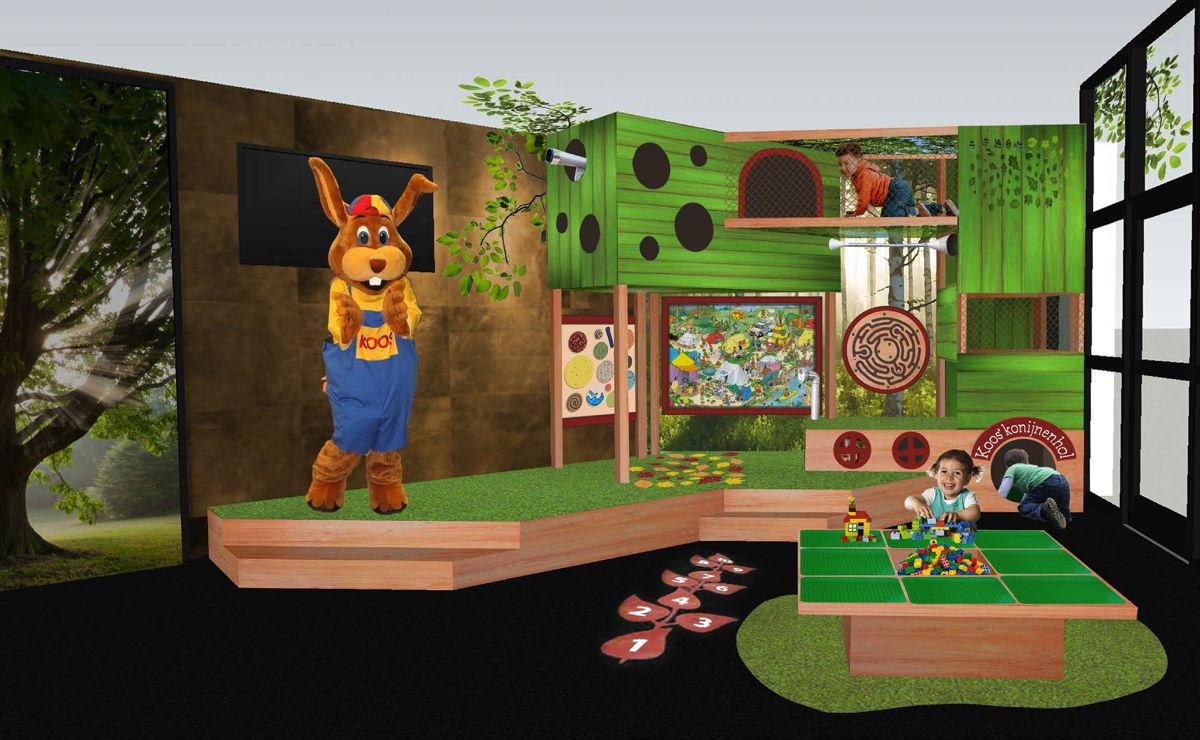 Roompot - De Soeten Haet - Nieuwe kinderspeelzone