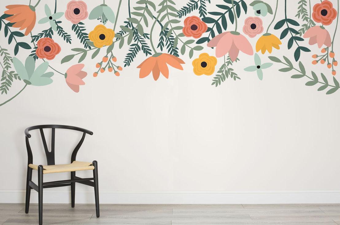 Tulipa Floral Wall Mural
