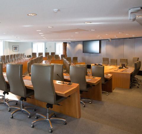 Commissie ad hoc bespreekt begrotingscijfers
