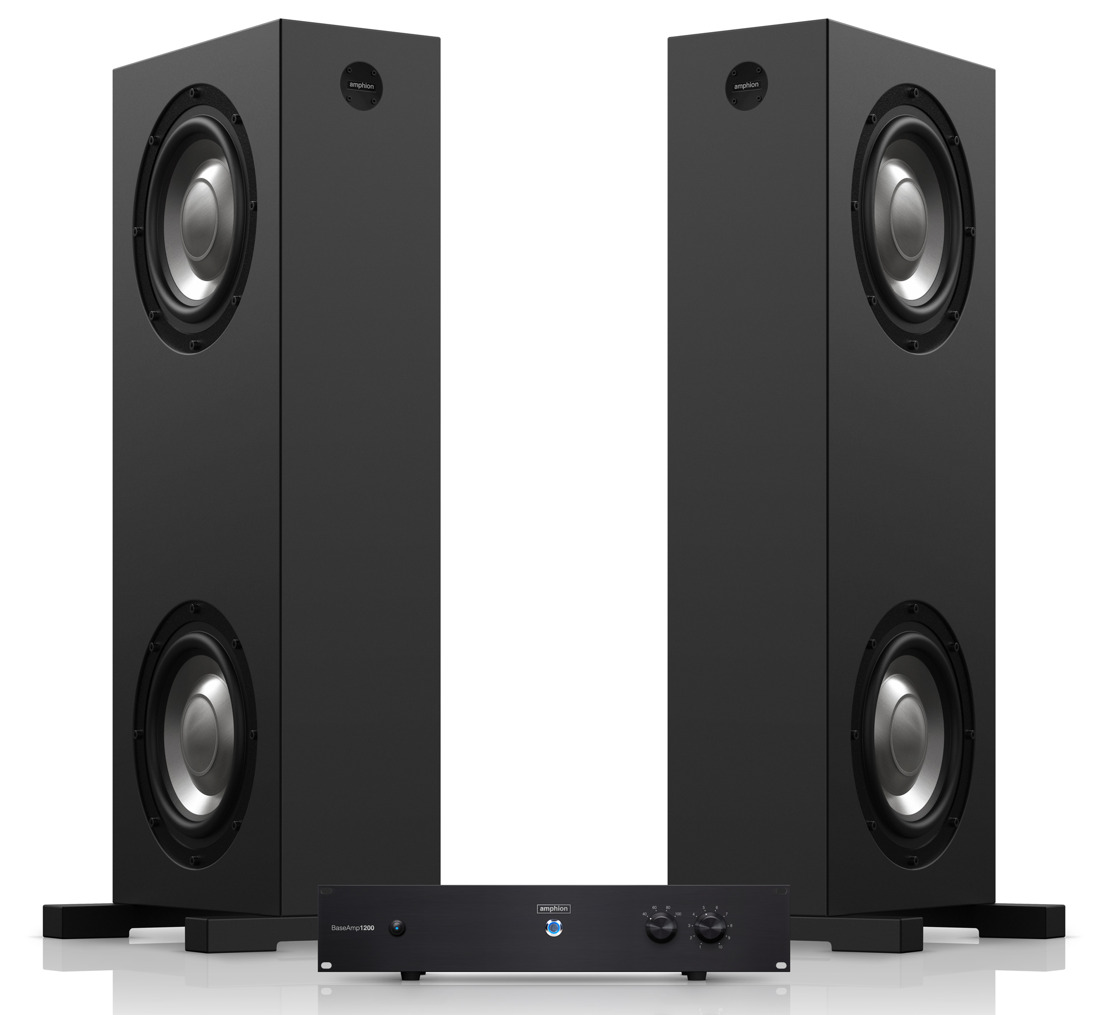 Amphion Announces Upgraded Version of BaseTwo25 Low-Frequency Extension System