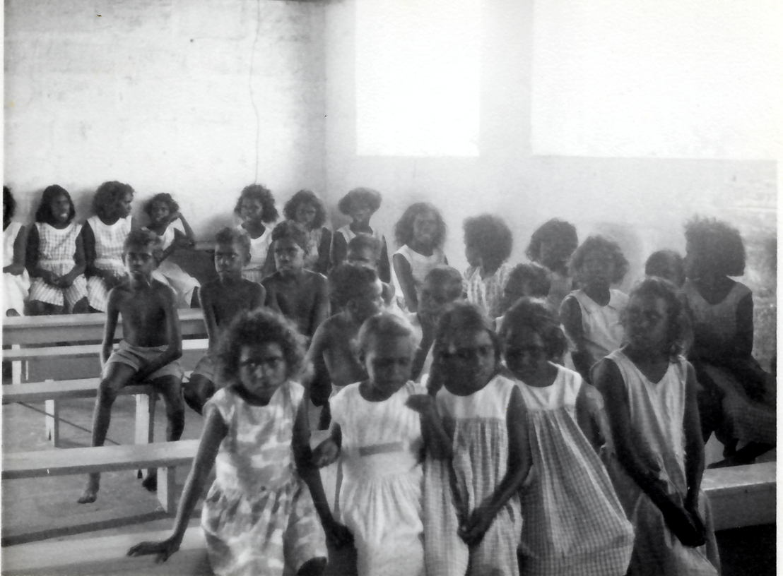 Angurugu School Children. Image: Groote Eylandt linguistics