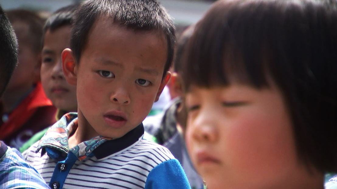 schoolchildren, central China