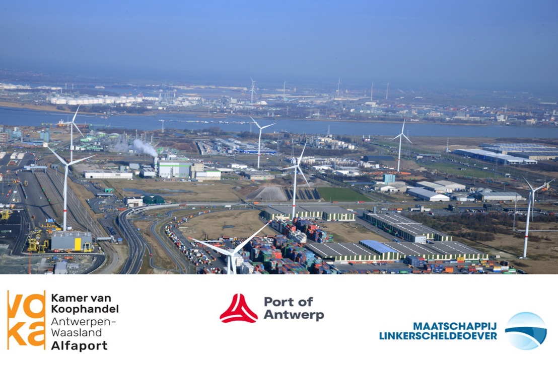 Alfaport Voka, Antwerp Port Authority and the Scheldt Left Bank Corporation (MLSO) in agreement on further extension of the payment term for concessions and harbour dues
