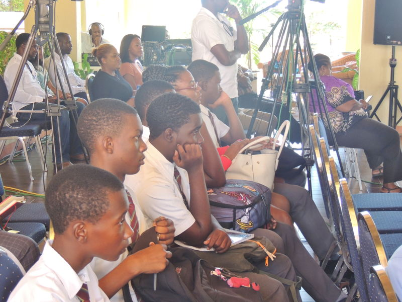 Grenadian students were among those in attendance