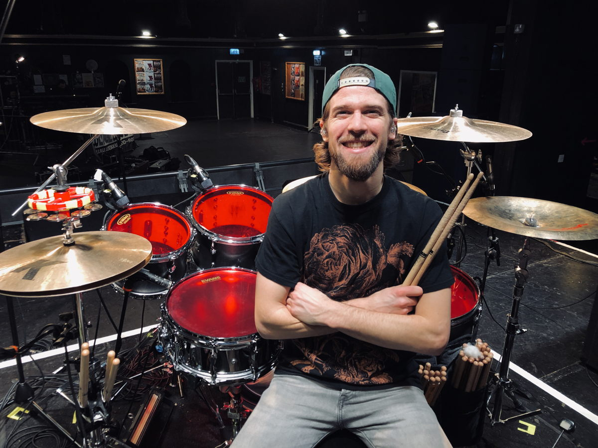 Liam Kearley, drummer for Black Peaks, has used IE 500 PRO on many gigs and can't wait to use them again once Covid-19 situation is over.