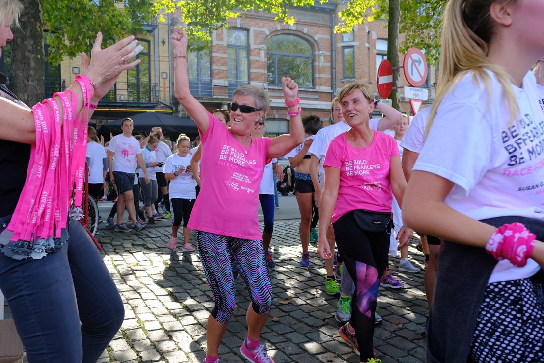 Antwerpen solidair in de strijd tegen borstkanker