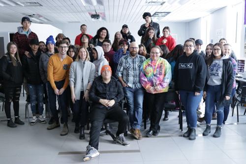 Eskasoni, Nova Scotia's Carter Chiasson Accepts The 2020 MusiCounts Teacher Of The Year Award