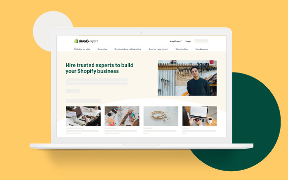 Preview: Connecting with experts is easier than ever with Shopify's new Experts Marketplace