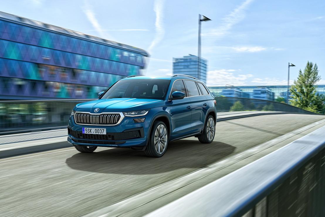 Le ŠKODA KODIAQ : le SUV à succès encore amélioré