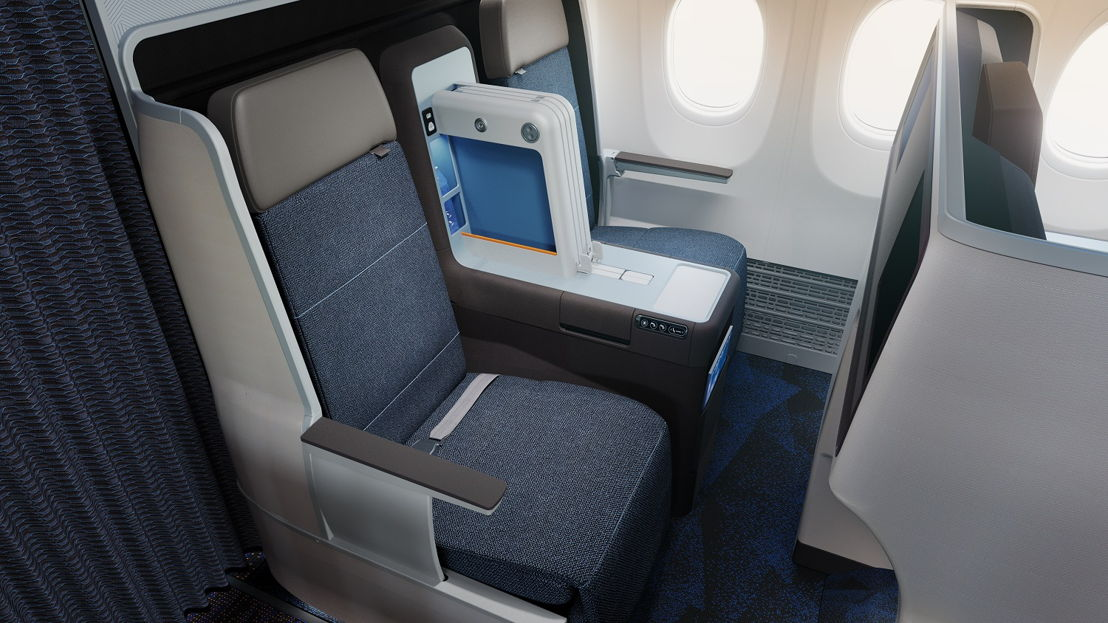 Business Class on the MAX 8