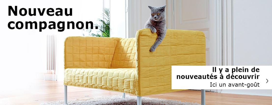 IKEA et DDB montrent combien la nouveauté peut être excitante.